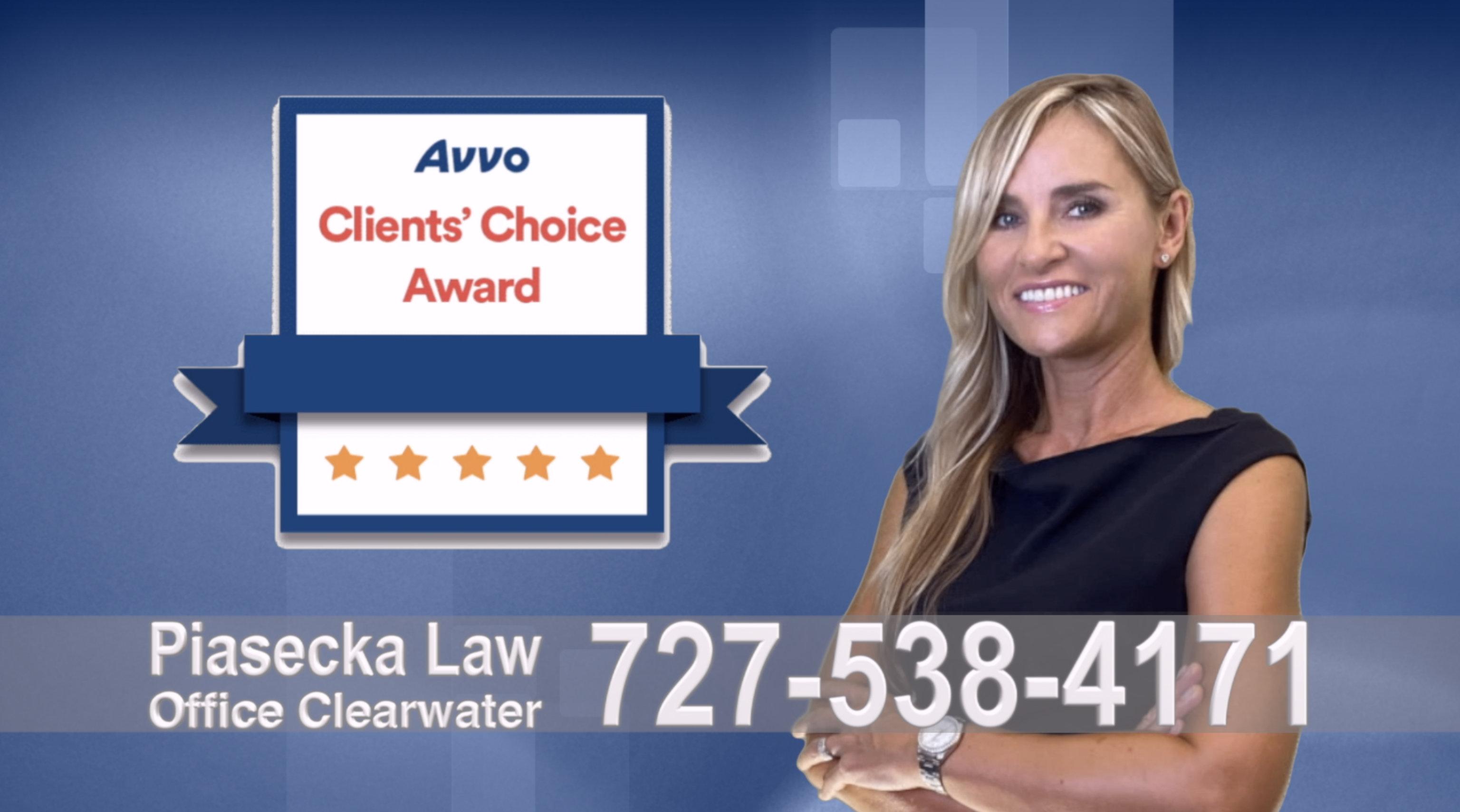 Avvo, Clients, Choice Award, Reviews, Opinie, Agnieszka, Aga, Piasecka, Polish, Lawyer, Attorney, Opinie klientów, Best, Najlepszy, Polskojęzyczny, Prawnik, Polski, Adwokat, Florida, Floryda, USA 4